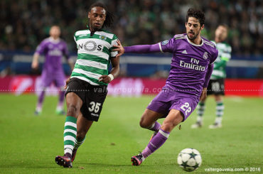 Liga dos Campeões :: 5ª Jornada - Grupo F Sporting CP 1-2 Real Madrid