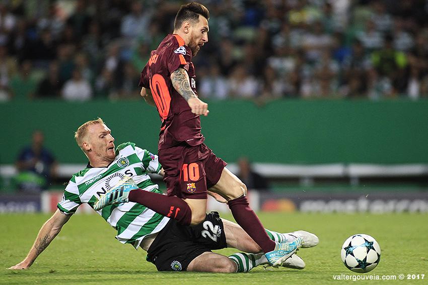 Liga dos Campeões :: Sporting CP vs FC Barcelona
