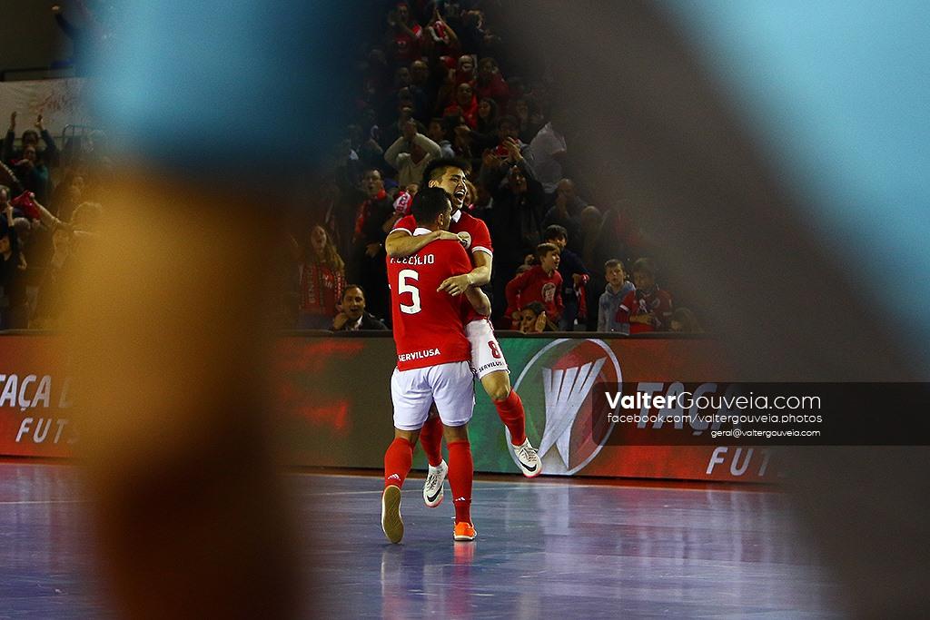 Final da Taça da Liga Futsal :: Sporting CP vs SL Benfica