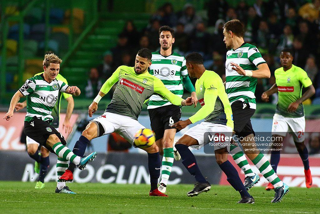 17ª Jornada da LigaNos :: Sporting CP vs CS Maritimo